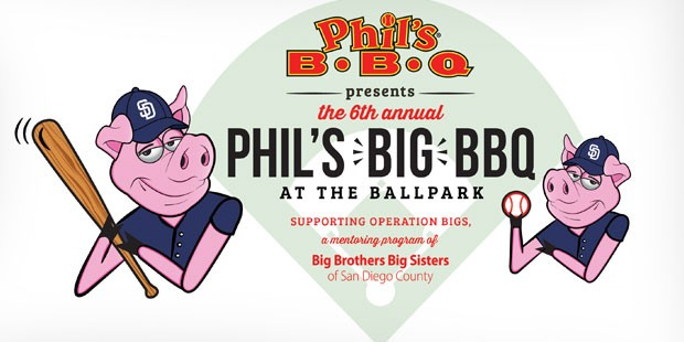 Phil's Big BBQ at the Ballpark