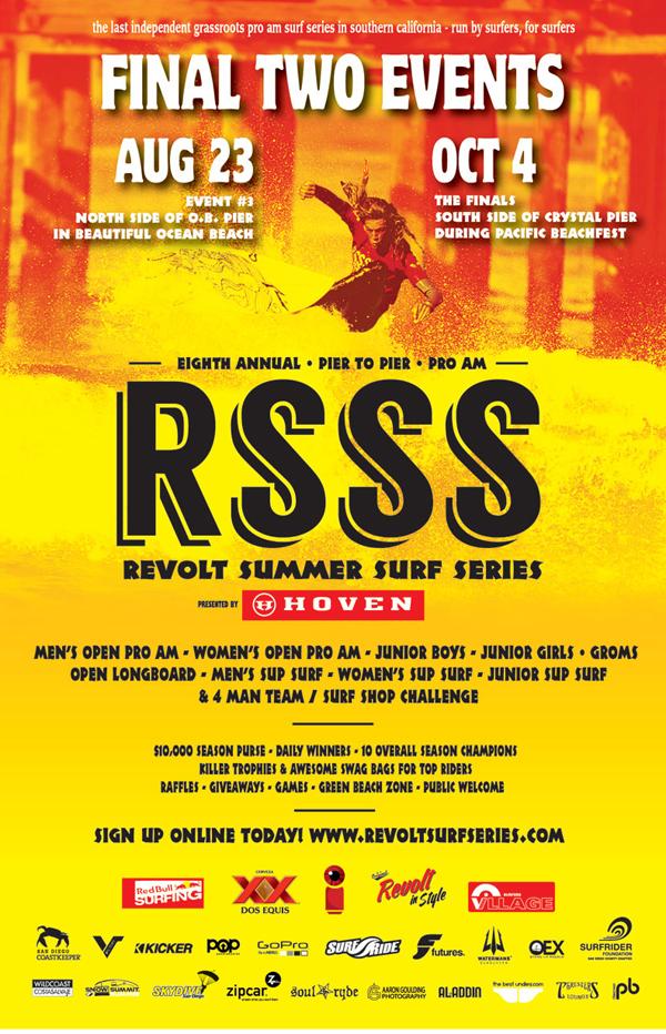 2014 Revolt Summer Surf Series