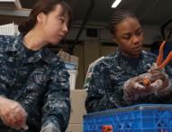 Stennis Sailors participating in COMRELs