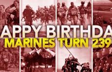Marines turn 239