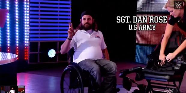 SGT Dan Rose & his inspirational story