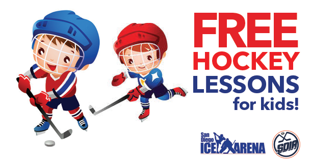 FREE Ice Hockey Lesson!