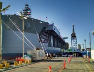 USNS Lewis B. Puller Christened at General Dynamics NASSCO