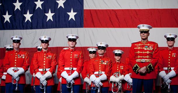Battle Colors Detachment visits Camp Pendleton