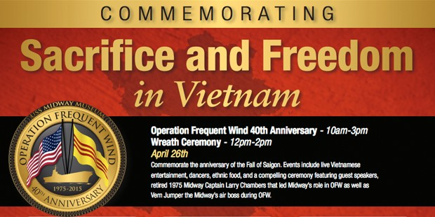 """Commemorating """"Sacrifice and Freedom in Vietnam"""""""