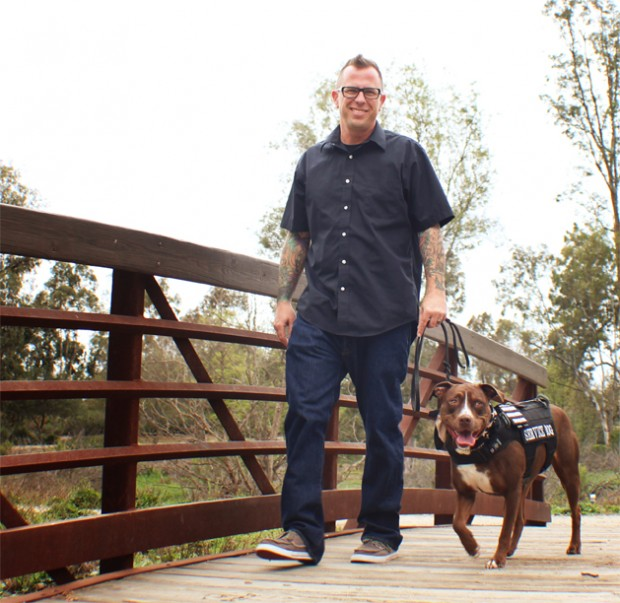 Three veterans graduate with service dogs to help with PTSD