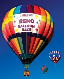 More than 100 balloons will take flight for the Great Reno Balloon Race from Sept. 11–13.
