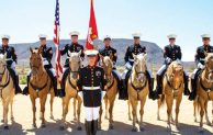 A day in the life of the Marines' last mounted color guard