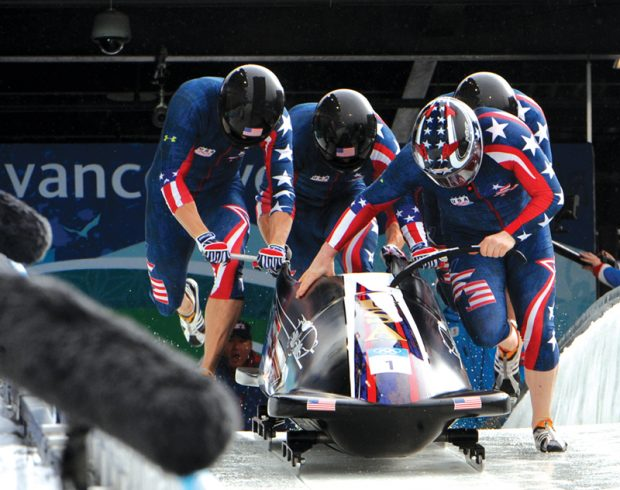Army bobsledders compete in Olympics