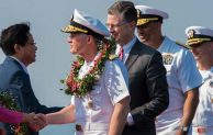 Carl Vinson returns to San Diego after historic Vietnam visit