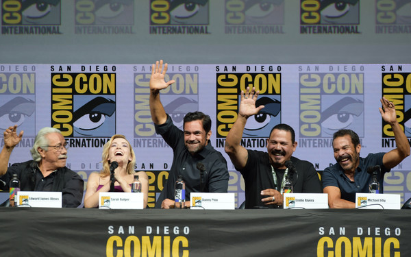 Sunday at Comic-Con brings the familiar and the new