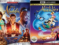 ALADDIN Brings Live Action and Animated to Bluray