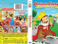 CURIOUS GEORGE: Royal Monkey Delights on DVD