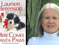 Here Comes Santa Paws (A Melanie Travis Mystery Book 24)