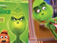 Now on Bluray and DVD is DR. SEUSS' THE GRINCH