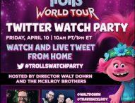 TROLLS WORLD TOUR – At Home On Demand April 10