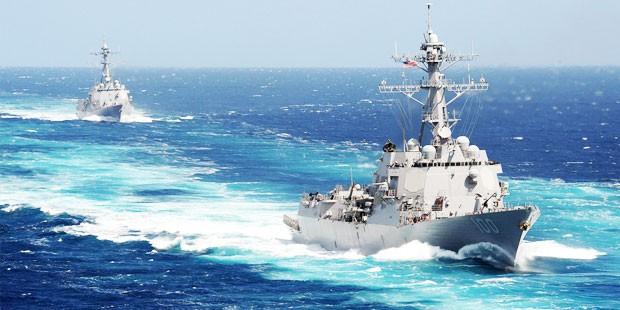 USS Pinckney and USS Kidd Return from Deployment
