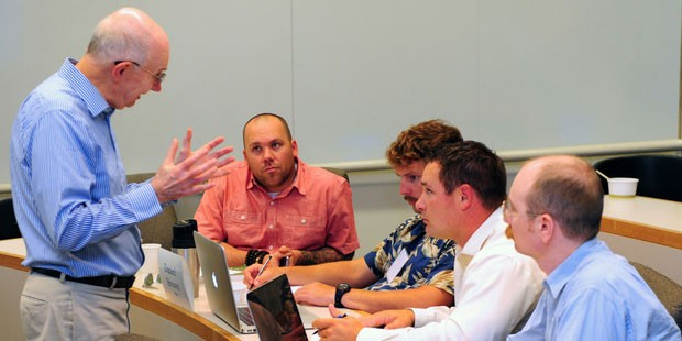 Veterans Head to Anderson for Business Boot Camp