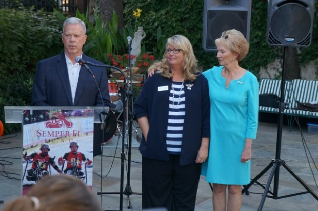 Semper Fi Fund CEO and Founder Karen Guenther Named Honorary Marine by Commandant of the Marine Corps
