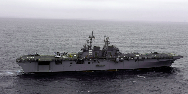 Future USS America to Arrive in San Diego