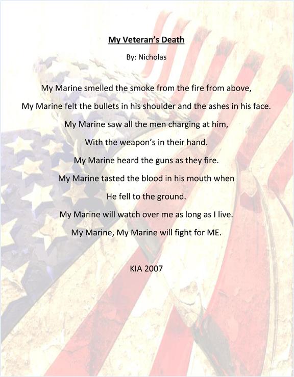 My Veteran's Death