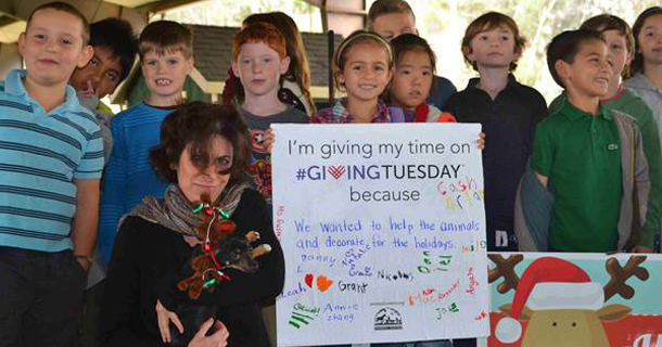 Giving Tuesday brings out the gener-paws-ity in local schoolchildren