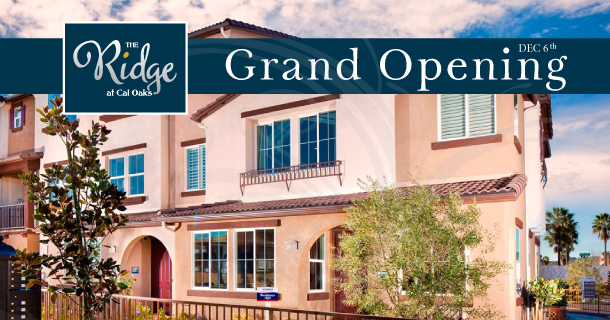 The Ridge at Cal Oaks grand opening this month