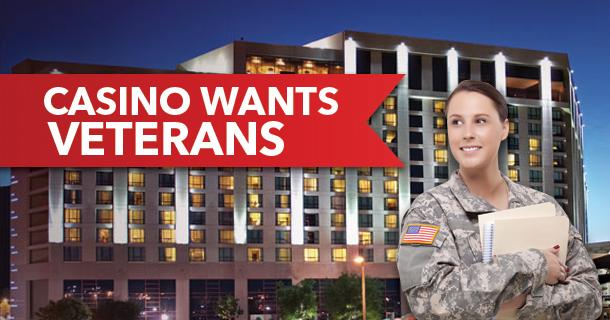 Pechanga Resort & Casino seeks Military Applicants