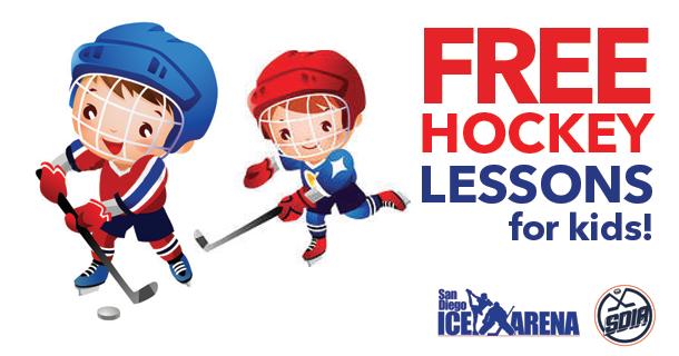 FREE Ice Hockey Lesson!