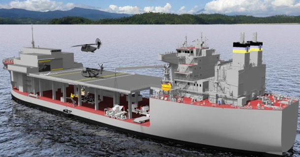 USNS Lewis B. Puller to be Christened