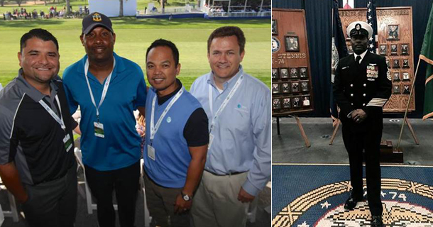 AT&T and Farmers Insurance Open Host Special Day for Local Navy Chief Petty Officer