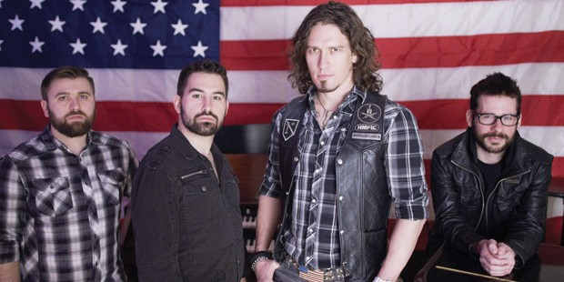 The Young Marines forms partnership with Madison Rising, America's most patriotic rock band