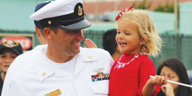 Month of the Military Child Toy Distribution