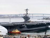 Hull Swap Begins: George Washington Arrives in San Diego