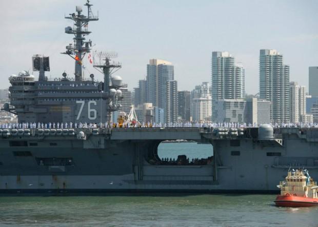 Reagan departs for Japan