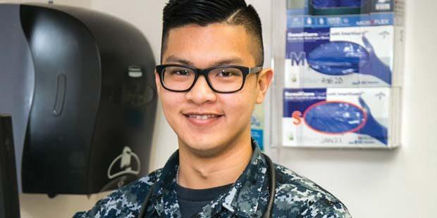 Rancho Bernardo grad helps train Navy's best