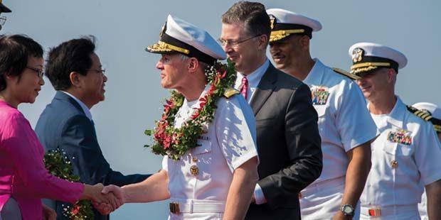Carl Vinson returns to San Diego after historic Vietnam visit