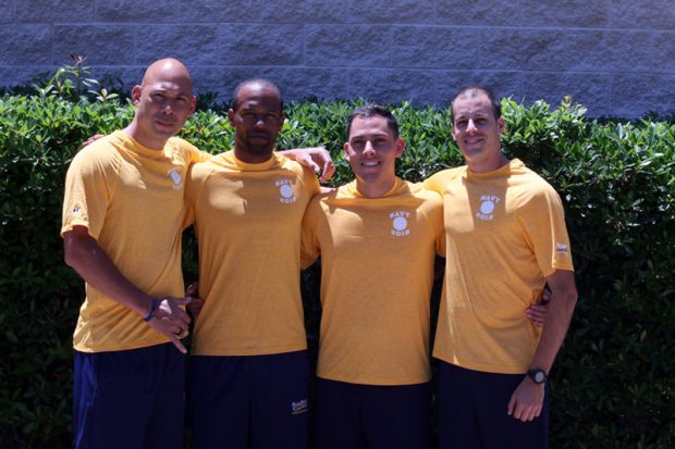 Navy volleyball players save two lives at Mayport beach