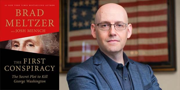 Meltzer dives into nonfiction with 'The First Conspiracy'