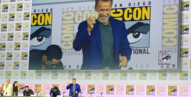 The First Day of SDCC is in the Hands of the Terminator