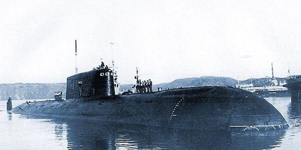 30 Years Later, a Sunken Soviet Sub is Still Leaking Radioactivity