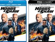Fast & Furious Presents: HOBBS & SHAW Bring Action to Bluray and 4K Ultra
