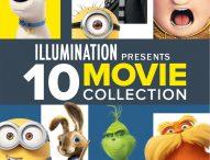 ILLUMINATION Presents 10-Movie Collection on Bluray