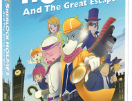 SHERLOCK HOLMES AND THE GREAT ESCAPE Giveaway!